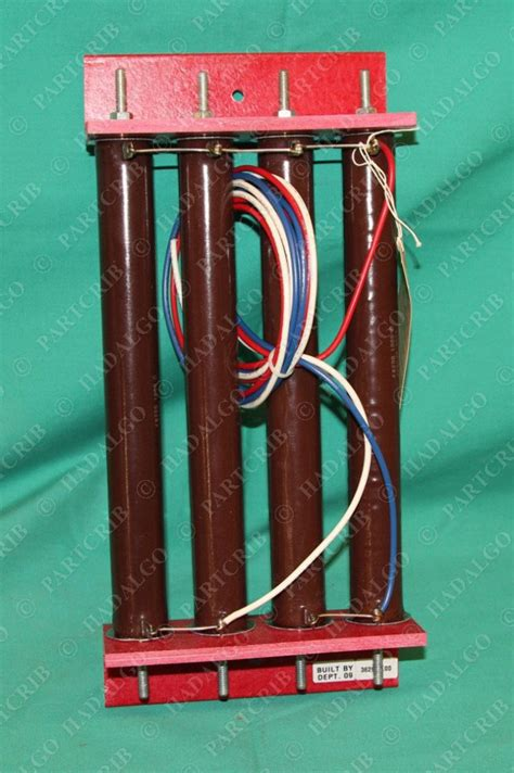 resistor bank motor resistor bank 362958 00 fr200 1000 ohms memcor 9552 partcrib