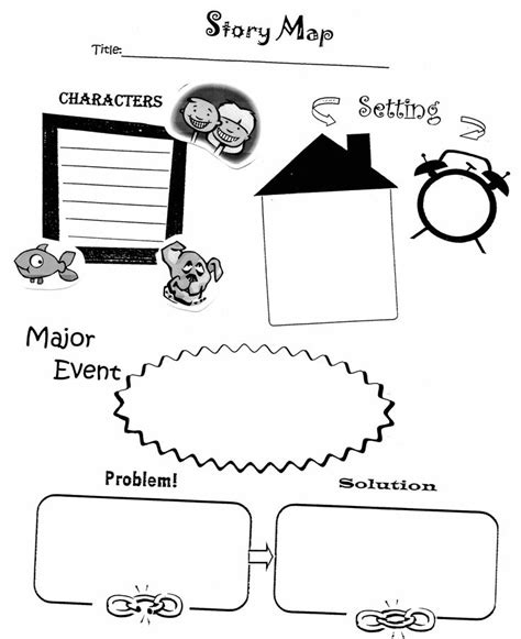 the storm story map graphic organizer by ussery3 tpt