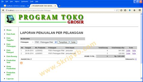 desain database inventory barang program stock barang php file windowsplatinum