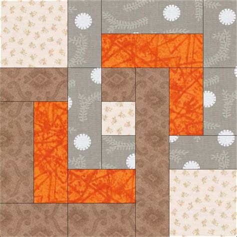 Free Patchwork Blocks - free quilt block pattern august beginner bom quilt