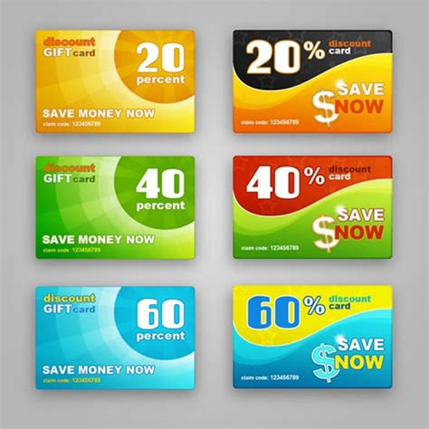 discount card templates my free photoshop world