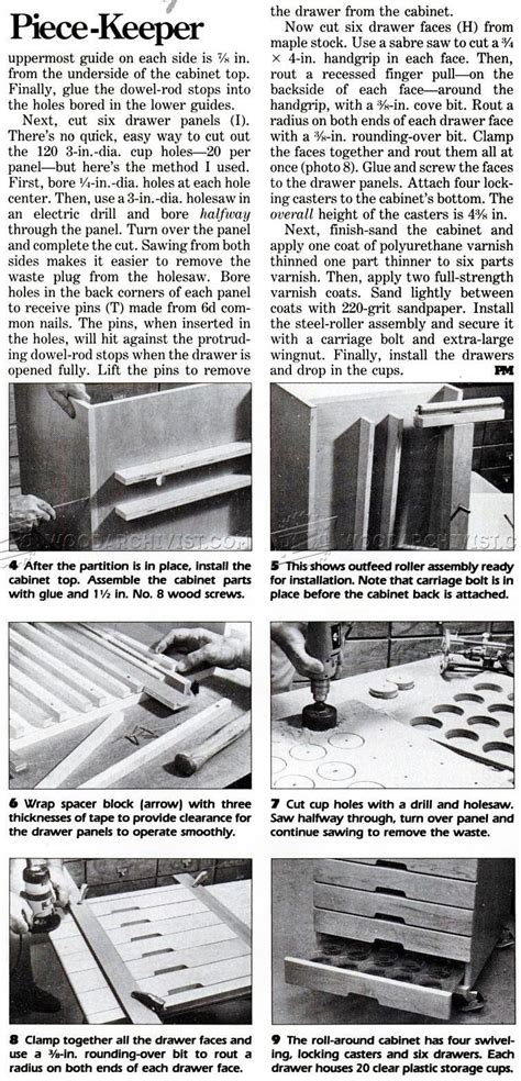 woodworking plans clamp storage