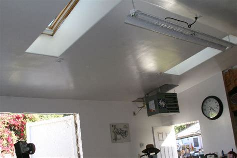 Garage Skylight by Take A Tour Of Mikeyr S New Shop Garage Shop