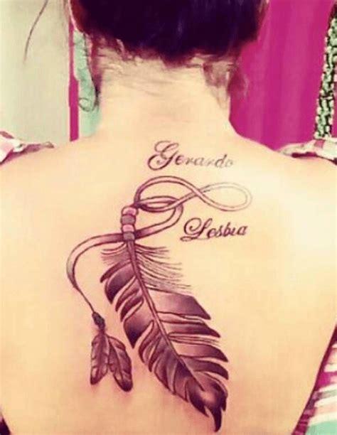 tattoo de infinito con pluma tatuajes infinito significados fotos precios y opiniones