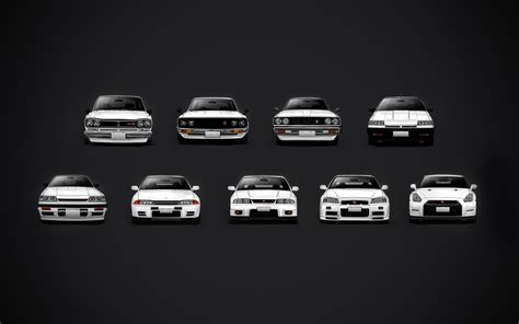 Put together a GT R history wallpaper just for you