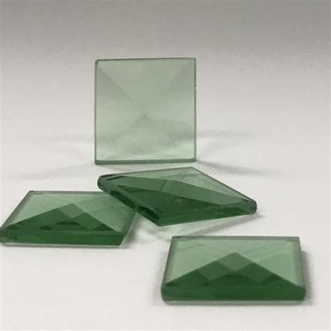 colored squared square colored glass bevel 3 4 x 3 4 glass house store