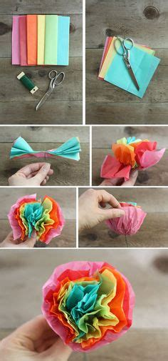 mexican paper flower tutorial how to make tissue paper flowers great for a summer deck