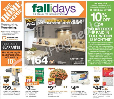 home depot weekly store ad weekly circulars and ads