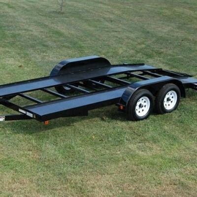 diy hard floor cer trailer plans car hauler trailer 16 welding plans diamond plate deck