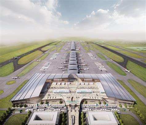 architetture citt visioni riflessioni 8842420484 new gatwick airport expansion designs unveiled