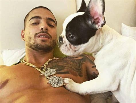 fotos de maluma en boxer y sin camisa newhairstylesformen2014 com meet priti maluma s adorable new puppy from his fans in