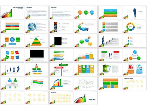 Powerpoint Graph Templates Hooseki Info Free Powerpoint Graph Templates