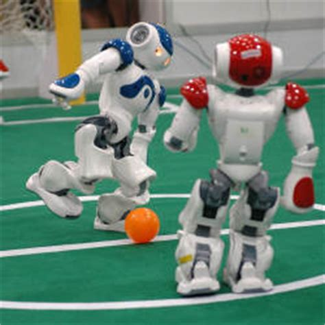 Dribling Robot Soccer Robot how football robots the future of ai at their
