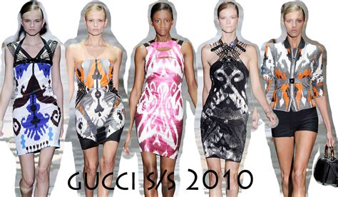 Dress Megumi Second ikat patterns from gucci high fashion
