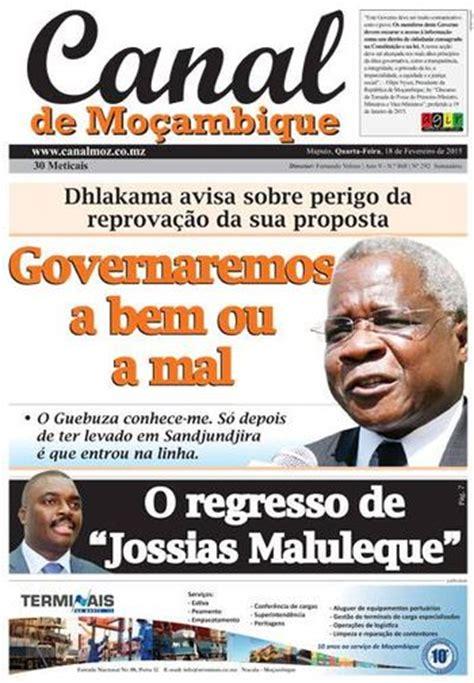 moambique para todos poltica partidos mo 231 ambique para todos canal de mo 231 ambique de 18 02 2015