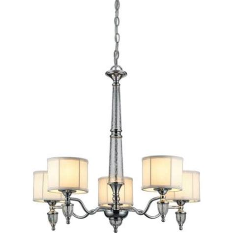 discontinued hton bay ceiling fans hton bay waterton collection 5 light chrome chandelier