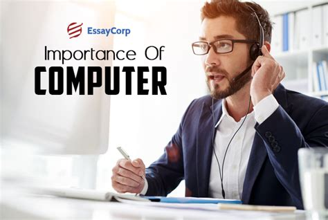 Importance Computer Essay by What Does The Computer Technology Play In Society Today