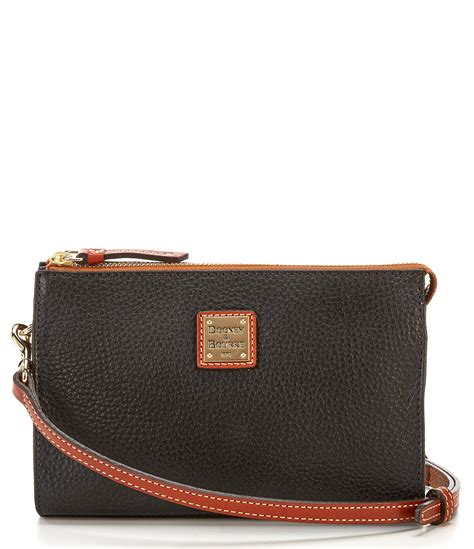 Dooney Bourke Introducing Dooney And Bourke Mini Collection by Dooney Bourke Hobo Handbag With Crocodile Leather