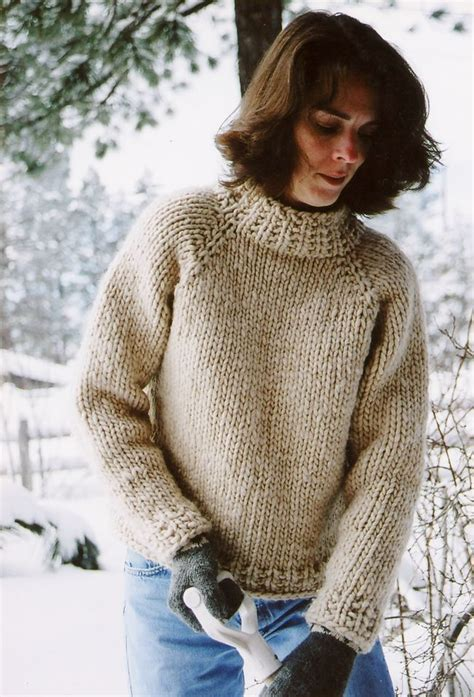 knit down sweater pattern weekend neck down pullover by knitting pure and simple