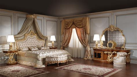 baroque bedroom luxury classic bedroom roman baroque style vimercati