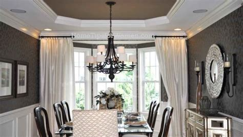 hanging curtains in a bay window installing curtains where do i hang them home tips for