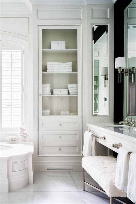 bathroom linen storage ideas best 25 linen cabinet in bathroom ideas on pinterest