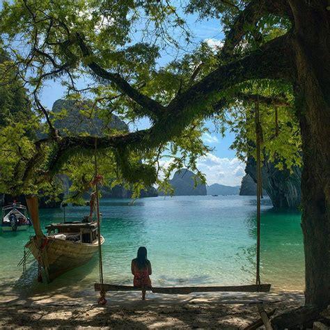 princess ohio swing krabi thailand