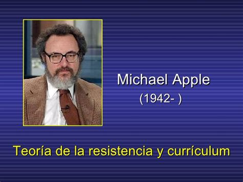 Modelo Curricular De Michael Apple Apple