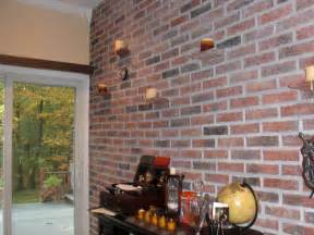 Modern Decoration Ideas For Living Room interior brick wall ideas with innovative candles lighting