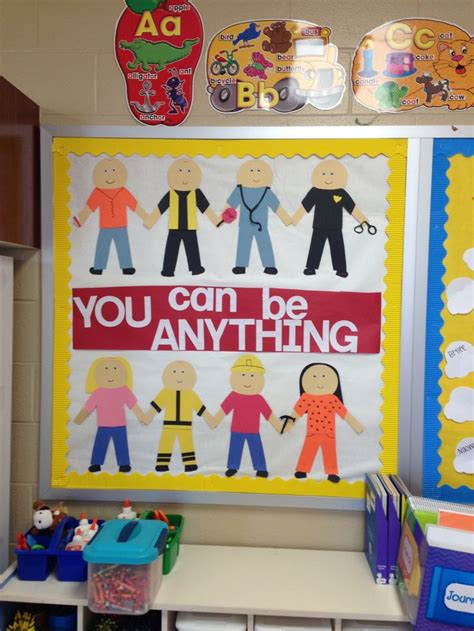 theme for education day community helpers bulletin board life stuff pinterest