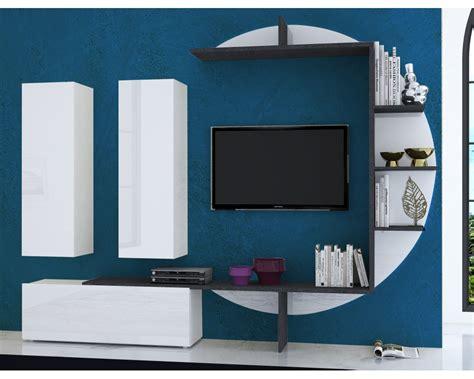 Bien Meuble Laque Blanc Ikea #2: meuble-tv-mural-design-lumineux-collection-zen-blanc-laque-marbre.jpg