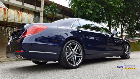 forged luxury mercedes s klasse equipped with forged