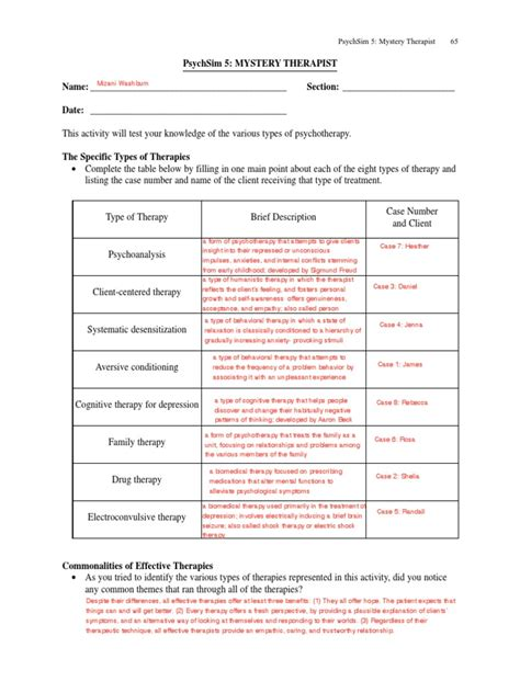 Classical Conditioning Worksheet Answers by Psychsim 5 Worksheets Mmosguides