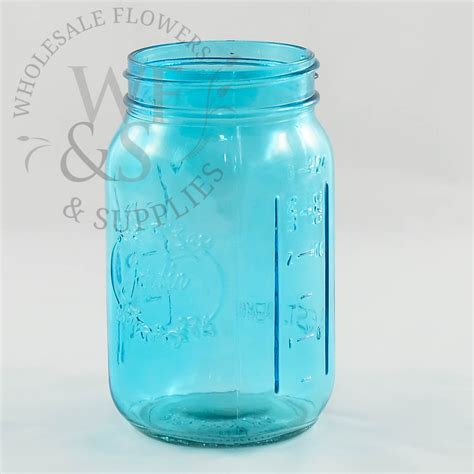 Led Light Bases For Vases Glass Mason Jars Blue Wholesale Flowers And Supplies