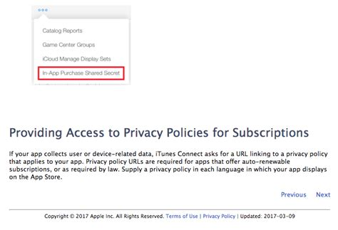 mobile app privacy policy template mobile app privacy policy for auto renewable subscriptions