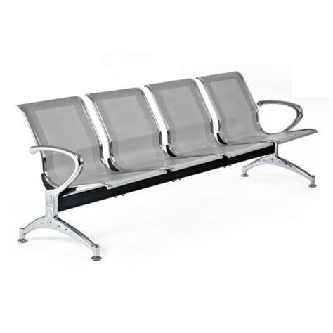 sedie attesa sedie per sala di attesa in metallo a 4 posti san marco