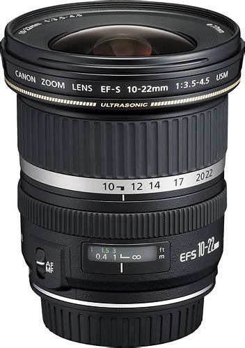 Lensa Canon Wide 10 22 canon ef s 10 22mm f 3 5 4 5 usm ultra wide zoom lens black 9518a002 best buy