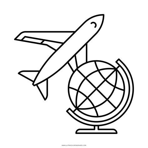 imagenes de vacaciones para colorear dibujo de viajar para colorear ultra coloring pages