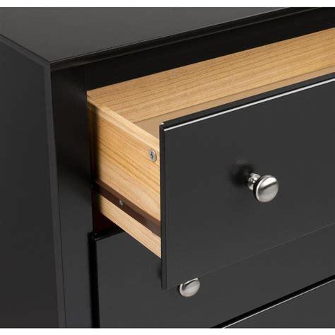 black sonoma 5 drawer chest prepac sonoma collection 5 drawer chest black dc 3345