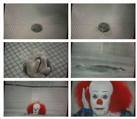 scary movie bathroom scene tim curry ruined my childhood a guide to evil clown movies horror virgin