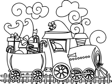 Coloriage Train De No 235 L 224 Imprimer Coloriage Gratuit Noel Sapin