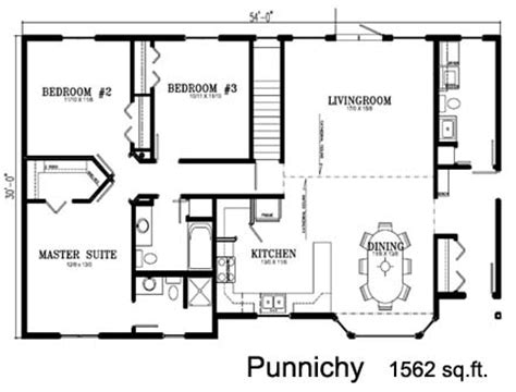 Deneschuk Homes Ltd Ready To Move Rtm Punnichy Home 1500 To 1600 Square House Plans