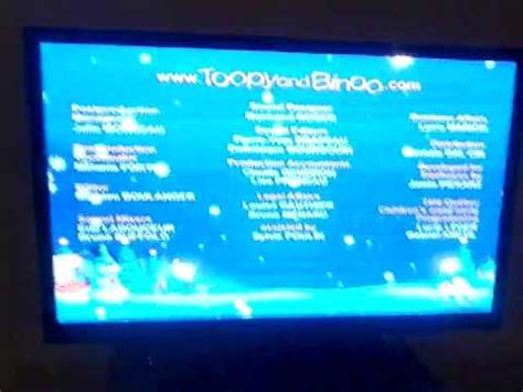 coco end credit toopy and binoo credits big bad christmas youtube