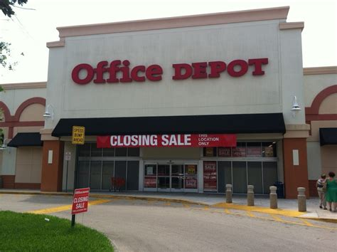 Office Depot Closing Stores List Office Depot To Three Stores In Broward Sun Sentinel