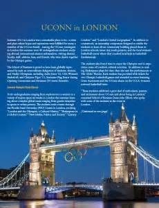 Uconn Mba Study Abroad by Uconn In School Of Business