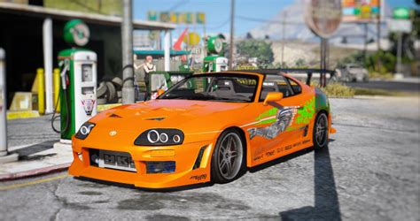 Fast And Furious Gta 5 | toyota supra the fast and the furious vinyl gta5 mods com