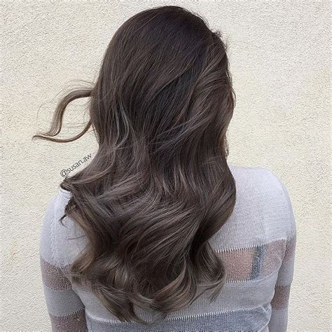 ash gray highlights on brown hair dark ash brown hair colors for 2017 page 2 best hair