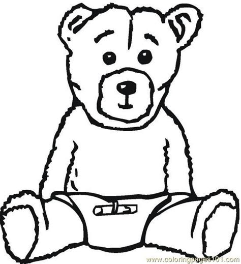 bear coloring page pdf teddybear 2 coloring page free bear coloring pages