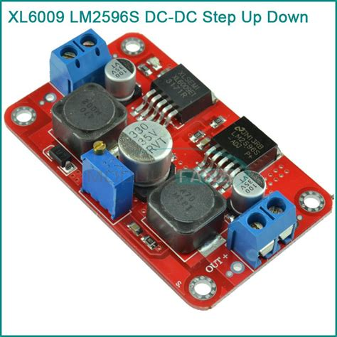 xlsemi integrated circuit xl6009 xl6009 lm2596s dc dc step up boost buck voltage power converter module in integrated