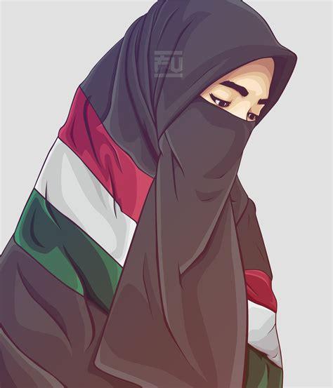 vector hijab niqab atahmadfu